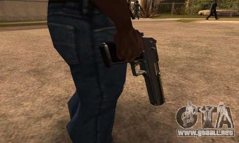Deagle White and Black para GTA San Andreas segunda pantalla