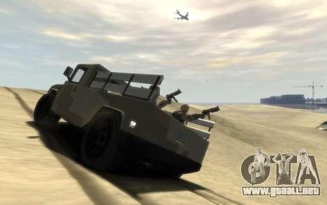 GTA 5 Millitary Patriot para GTA 4 left