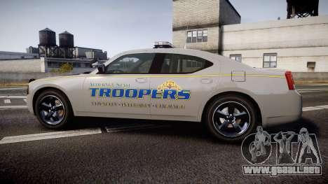 Dodge Charger Alaska State Trooper [ELS] para GTA 4 left