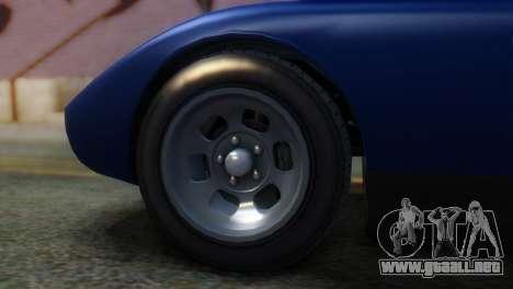 GTA 5 Pegassi Monroe IVF para GTA San Andreas vista posterior izquierda
