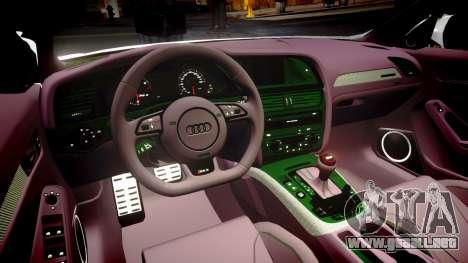 Audi S4 Avant Belgian Police [ELS] para GTA 4 vista lateral