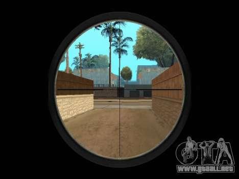 Chameleon Weapon Pack para GTA San Andreas octavo de pantalla
