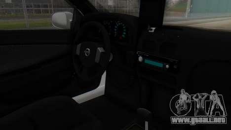 Nissan Almera Iraqi Police para la visión correcta GTA San Andreas