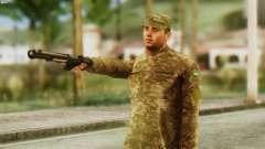 Un Miembro De Las Fuerzas Armadas De Ucrania
