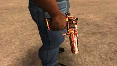 Red Splash Deagle para GTA San Andreas