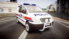 Mercedes-Benz Vito 2014 Norwegian Police [ELS]