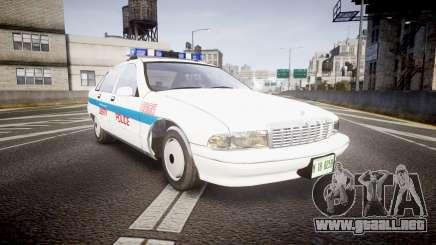 Chevrolet Caprice Liberty Police v2 [ELS] para GTA 4