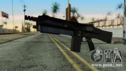 Assault Shotgun GTA 5 v1 para GTA San Andreas