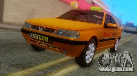 Peugeot 405 Slx Taxi para GTA San Andreas