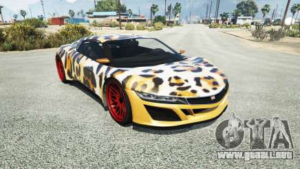 Dinka Jester (Racecar) Leopard para GTA 5