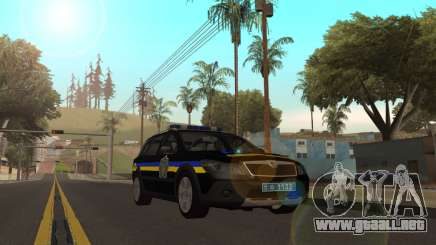 Skoda Octavia Scout de la polica de ucrania v2 para GTA San Andreas
