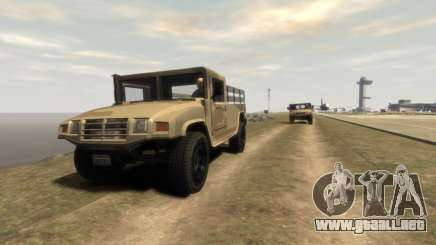 GTA 5 Millitary Patriot para GTA 4