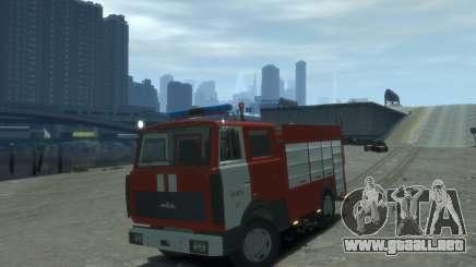 MAZ 533702 Fuego Lipetsk para GTA 4