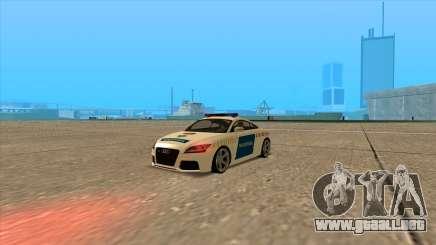 Audi TT RS de 2011 de la Policía húngara para GTA San Andreas
