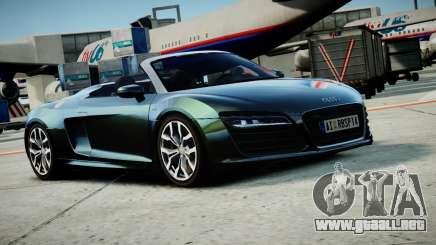 Audi R8 Spyder 2014 [EPM] para GTA 4