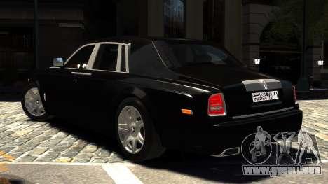 Rolls-Royce Phantom 2013 v1.0 para GTA 4 left