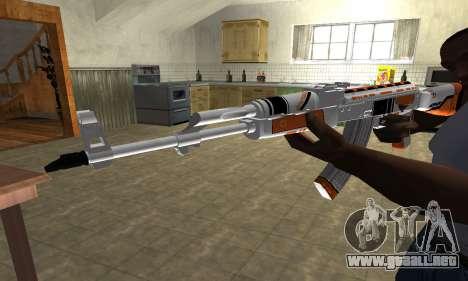 AK-47 Asiimov para GTA San Andreas segunda pantalla