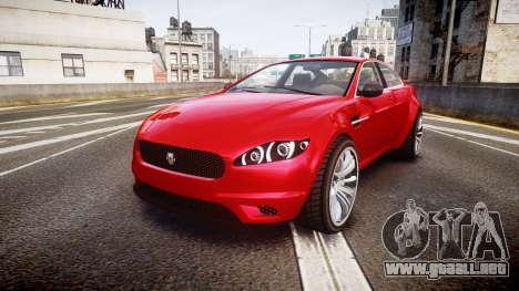 GTA V Ocelot Jackal liberty city plates para GTA 4