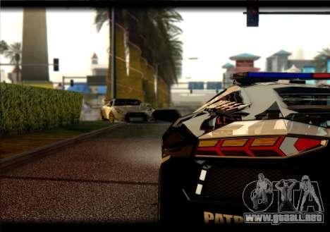 Nissan GTR-R35 Rocket Bunny para la visión correcta GTA San Andreas