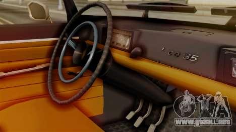 Peugeot 404 para la visión correcta GTA San Andreas