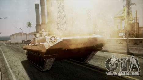 Call of Duty 4: Modern Warfare BMP-2 para la visión correcta GTA San Andreas