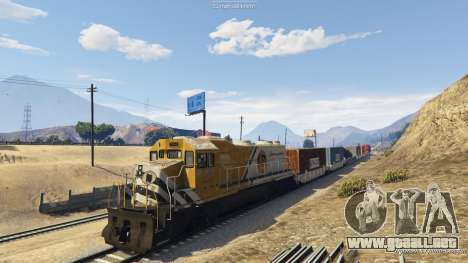 Railroad Engineer 3 para GTA 5