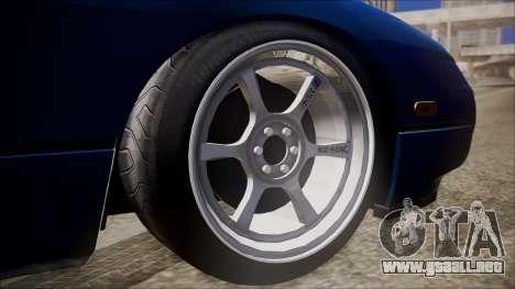 Nissan Onevia para GTA San Andreas vista posterior izquierda
