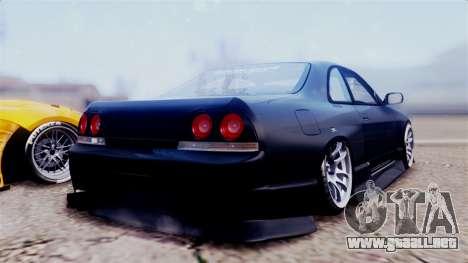 Nissan Skyline ER33 para GTA San Andreas left