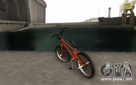 BMX HD para GTA San Andreas left