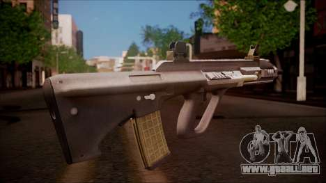 AUG A3 from Battlefield Hardline para GTA San Andreas segunda pantalla