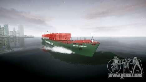 Un barco de contenedores para GTA 4