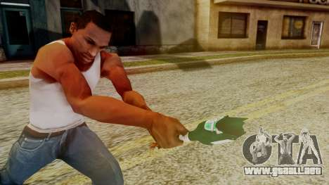 GTA 5 Broken Bottle v1 para GTA San Andreas tercera pantalla