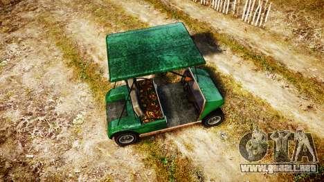 GTA V Nagasaki Caddy para GTA 4 visión correcta