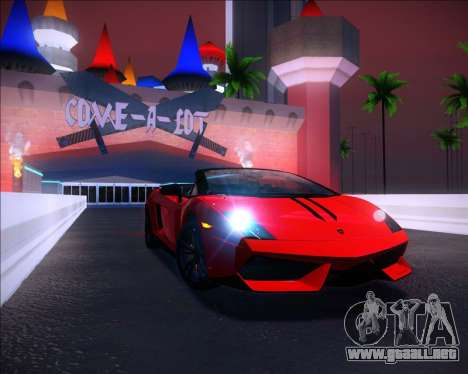 Sparkle ENB para GTA San Andreas segunda pantalla