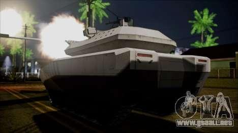 PL-01 Concept Desert para GTA San Andreas left