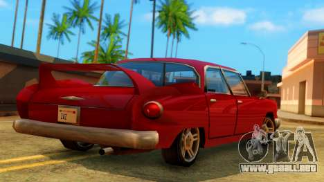 New Glendale para GTA San Andreas left