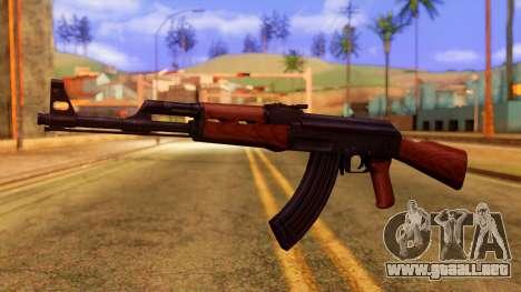 Atmosphere AK47 para GTA San Andreas