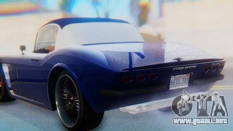 Invetero Coquette BlackFin v2 GTA 5 Plate para la vista superior GTA San Andreas