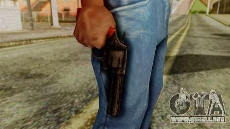 Colt Revolver from Silent Hill Downpour v2 para GTA San Andreas tercera pantalla