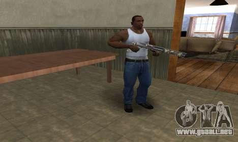 Militarry Shotgun para GTA San Andreas segunda pantalla