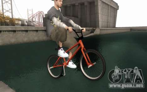 BMX HD para la visión correcta GTA San Andreas