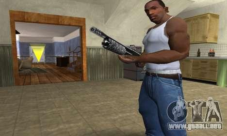 Sawn-Off Shotgun para GTA San Andreas segunda pantalla