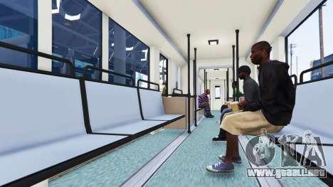 GTA 5 Nuevas texturas de los tranvías tercera captura de pantalla