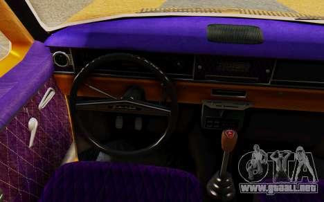 GAZ 24 Volga para GTA San Andreas vista posterior izquierda