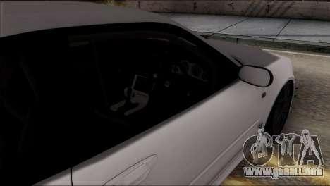 Nissan Skyline GT-R34 para la vista superior GTA San Andreas