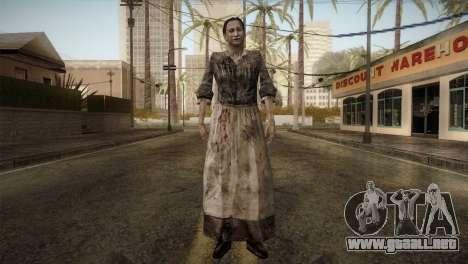 RE4 Maria without Kerchief para GTA San Andreas segunda pantalla