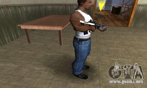 Gold AUG para GTA San Andreas tercera pantalla