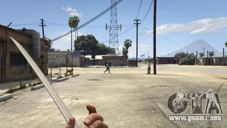 GTA 5 Katana v2.0 segunda captura de pantalla