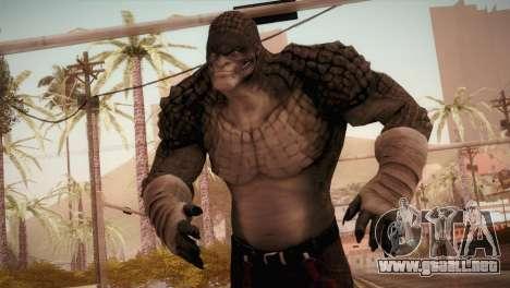Killer Croc (Batman Arkham Origins) para GTA San Andreas
