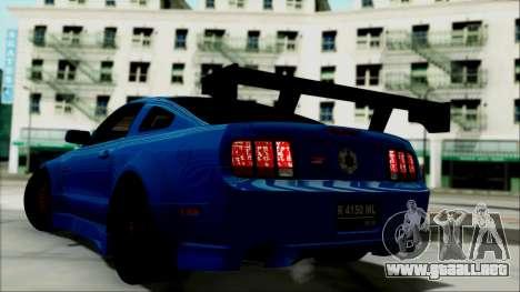 Ford Mustang GT Modification para GTA San Andreas left